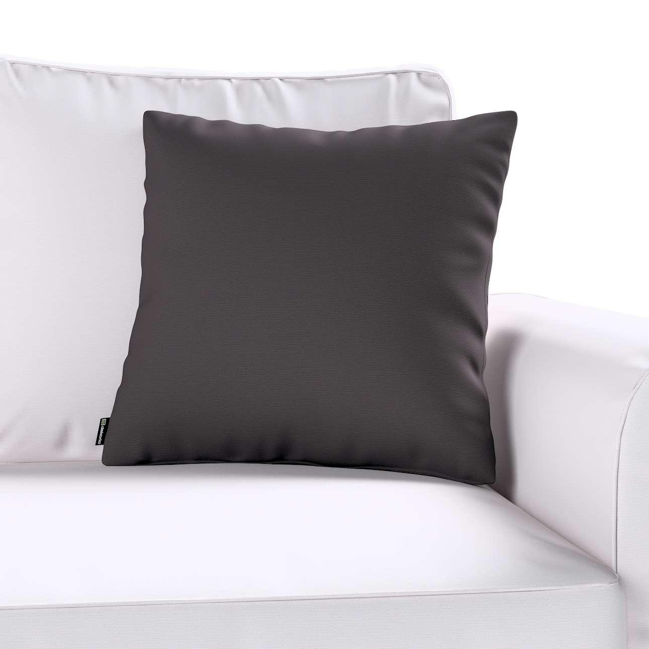 Poszewka Kinga na poduszkę 43 x 43 cm w kolekcji Cotton Panama, tkanina: 702-09