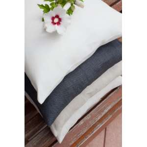 Poszewka Kinga na poduszkę 43 x 43 cm w kolekcji Linen, tkanina: 392-05