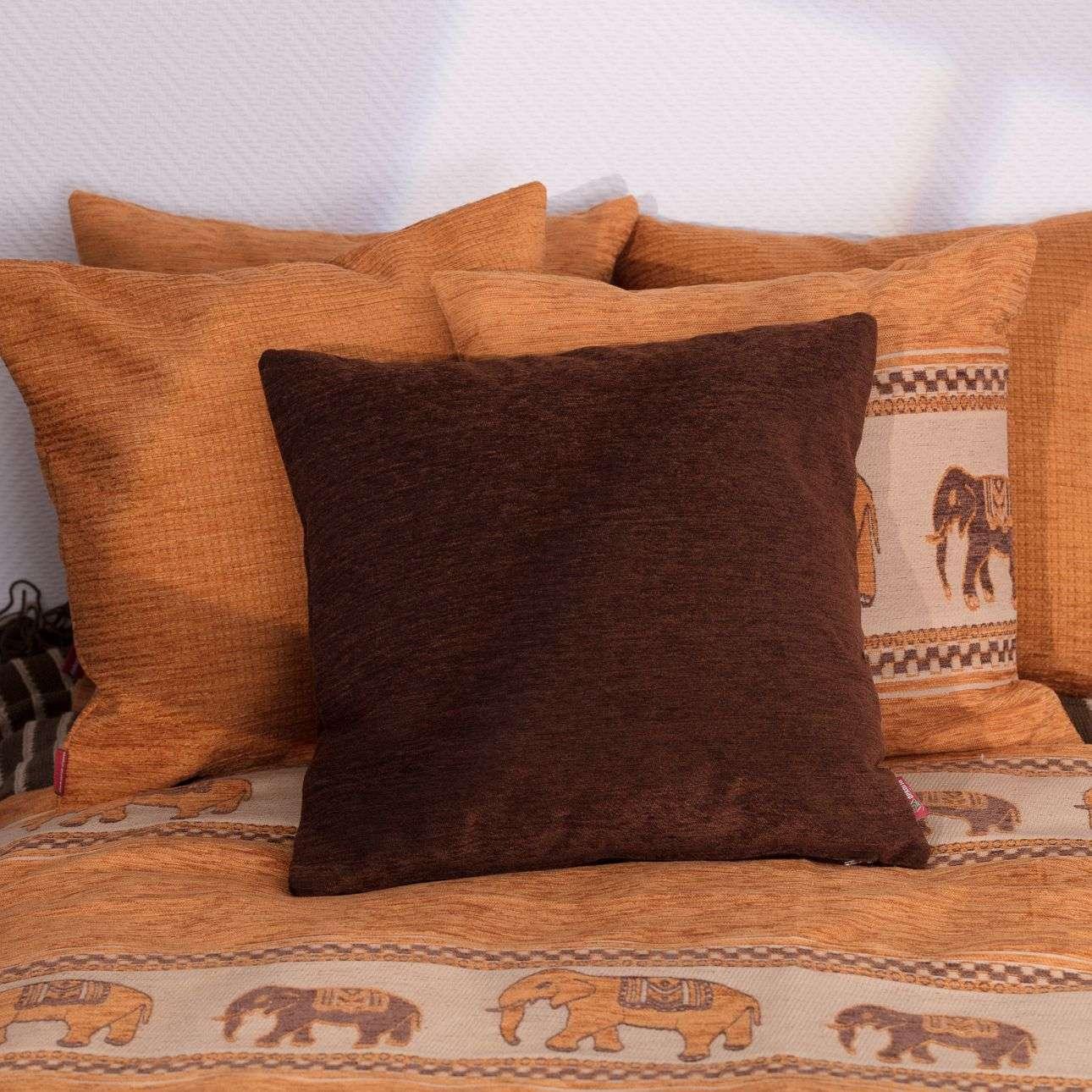 Kissenhülle Kinga 43 x 43 cm von der Kollektion Chenille , Stoff: 702-18