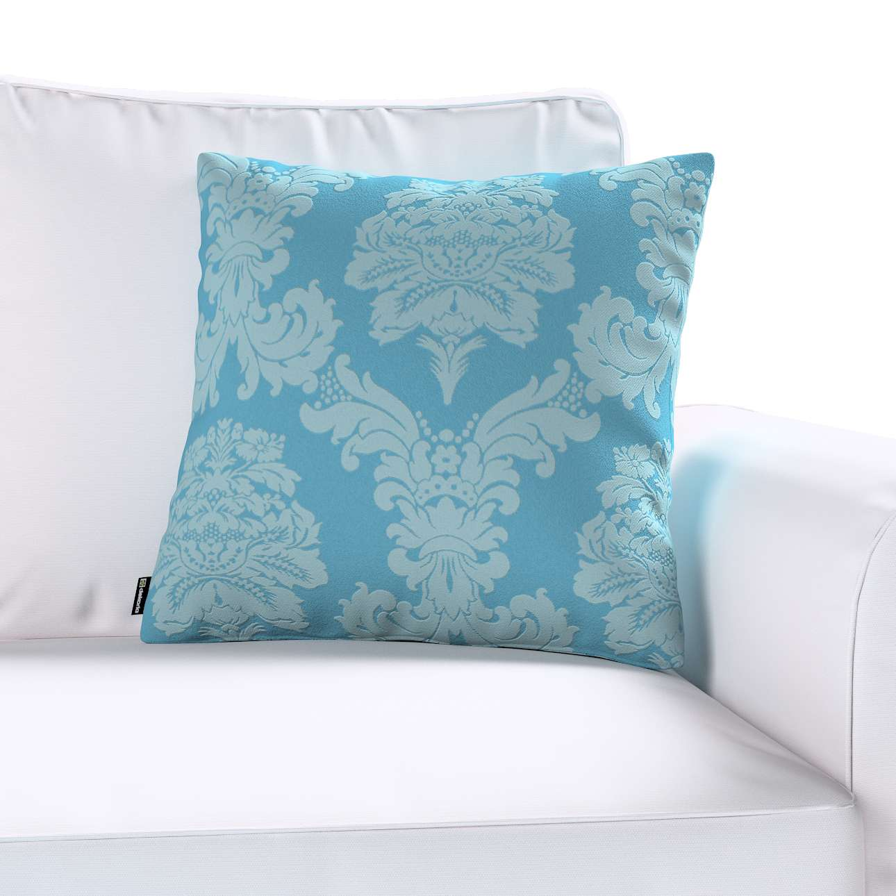 Kinga cushion cover 43 x 43 cm (17 x 17 inch) in collection Damasco, fabric: 613-67