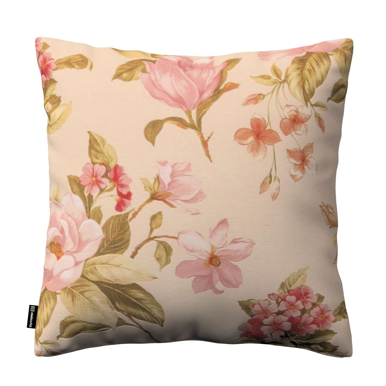 Kinga cushion cover 43 × 43 cm (17 × 17 inch) in collection Londres, fabric: 123-05