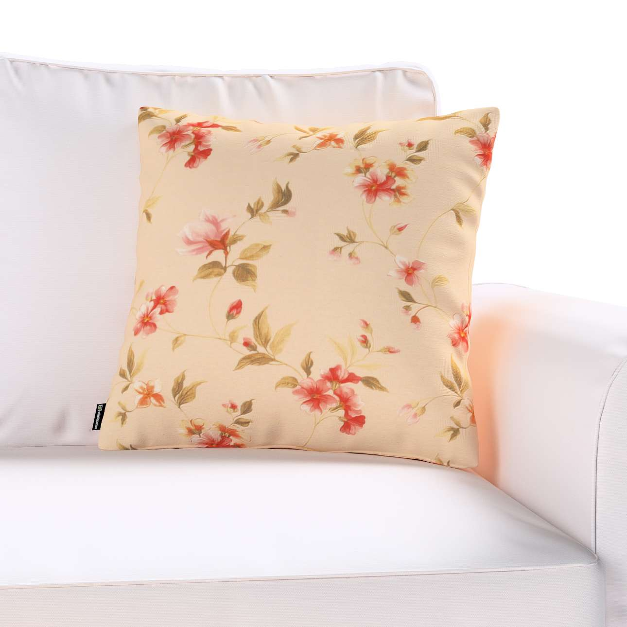 Kinga cushion cover 43 x 43 cm (17 x 17 inch) in collection Londres, fabric: 124-05