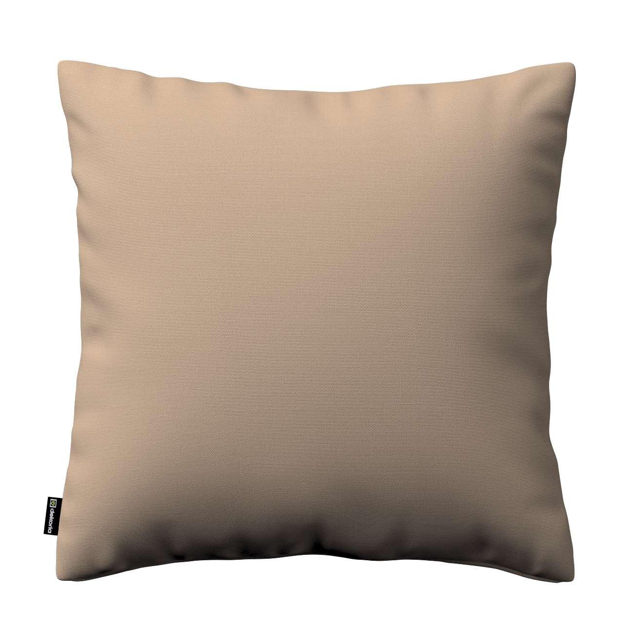 Poszewka Kinga na poduszkę 43 x 43 cm w kolekcji Cotton Panama, tkanina: 702-28
