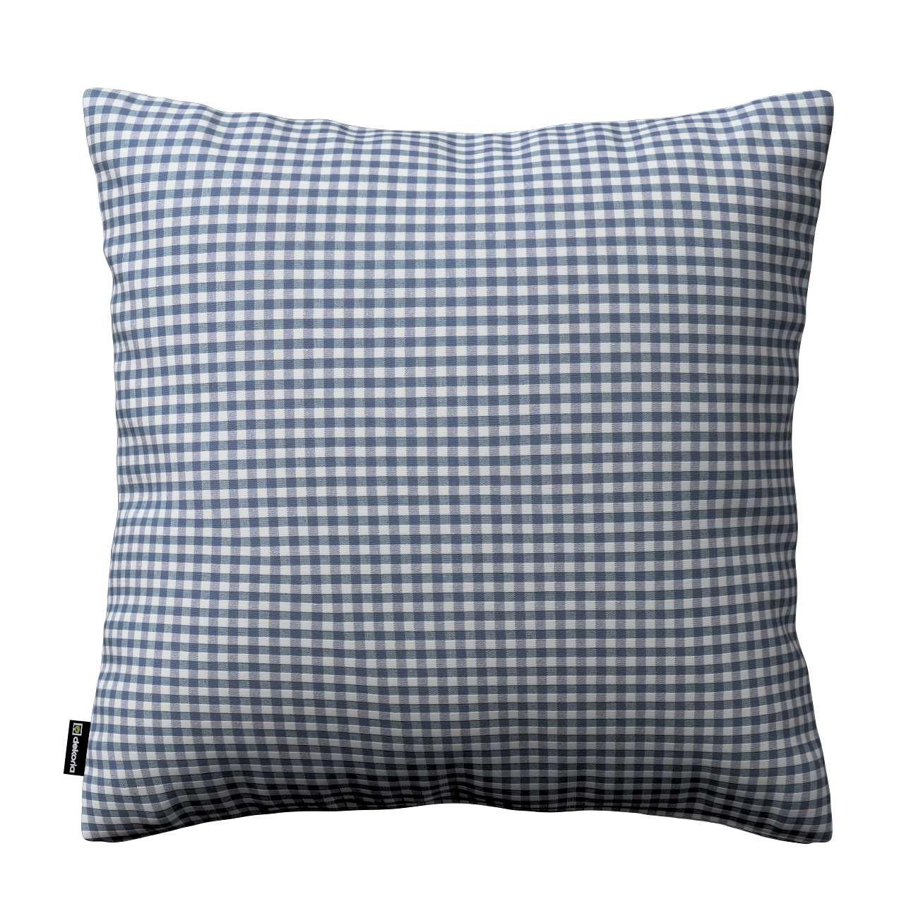 Kinga cushion cover in collection Quadro, fabric: 136-00
