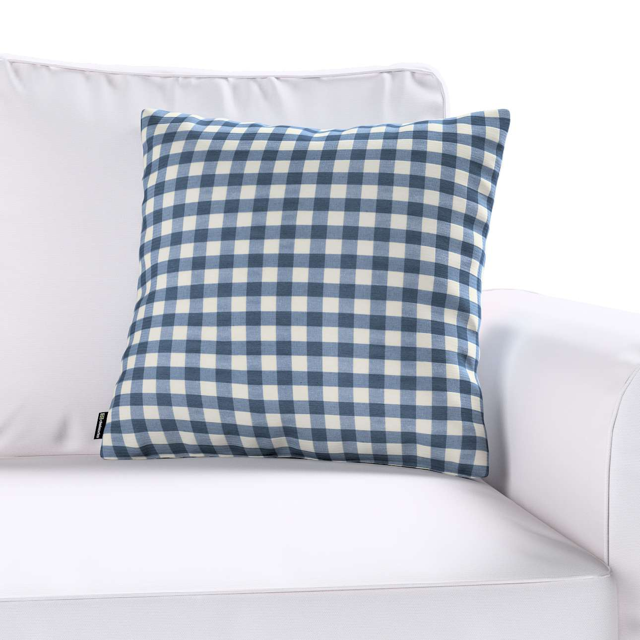 Kinga cushion cover 43 x 43 cm (17 x 17 inch) in collection Quadro, fabric: 136-01