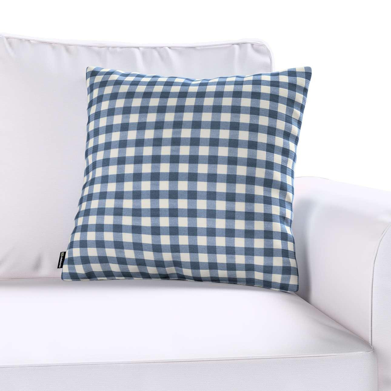 Poszewka Kinga na poduszkę w kolekcji Quadro, tkanina: 136-01