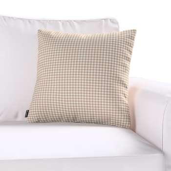 Poszewka Kinga na poduszkę w kolekcji Quadro, tkanina: 136-05
