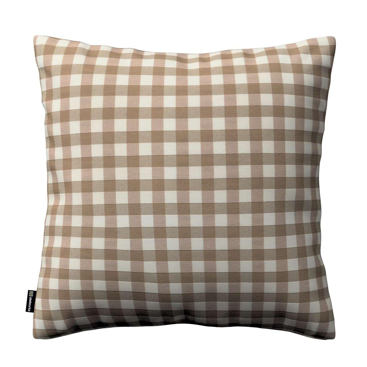 Karin - jednoduchá obliečka V kolekcii Quadro, tkanina: 136-06