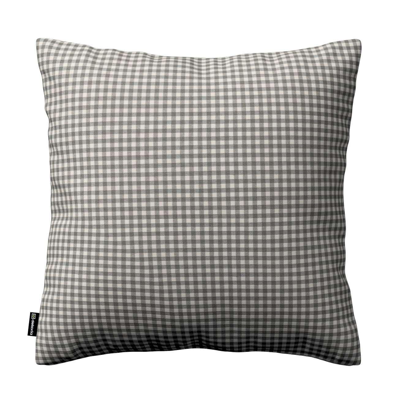 Kinga dekoratyvinės pagalvėlės užvalkalas kolekcijoje Quadro, audinys: 136-10