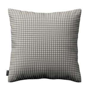 Kinga dekoratyvinės pagalvėlės užvalkalas 43 x 43 cm kolekcijoje Quadro, audinys: 136-10