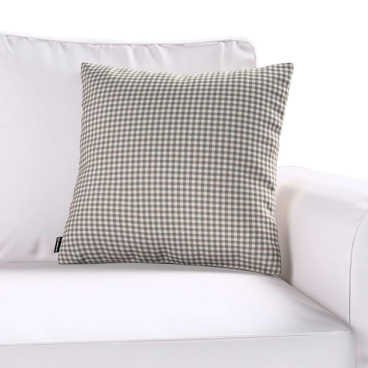 Poszewka Kinga na poduszkę 43 x 43 cm w kolekcji Quadro, tkanina: 136-10