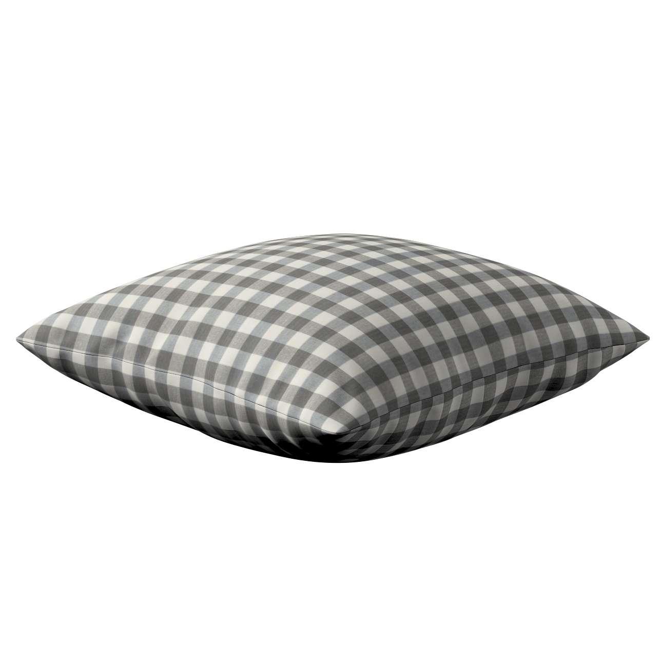 Poszewka Kinga na poduszkę w kolekcji Quadro, tkanina: 136-11