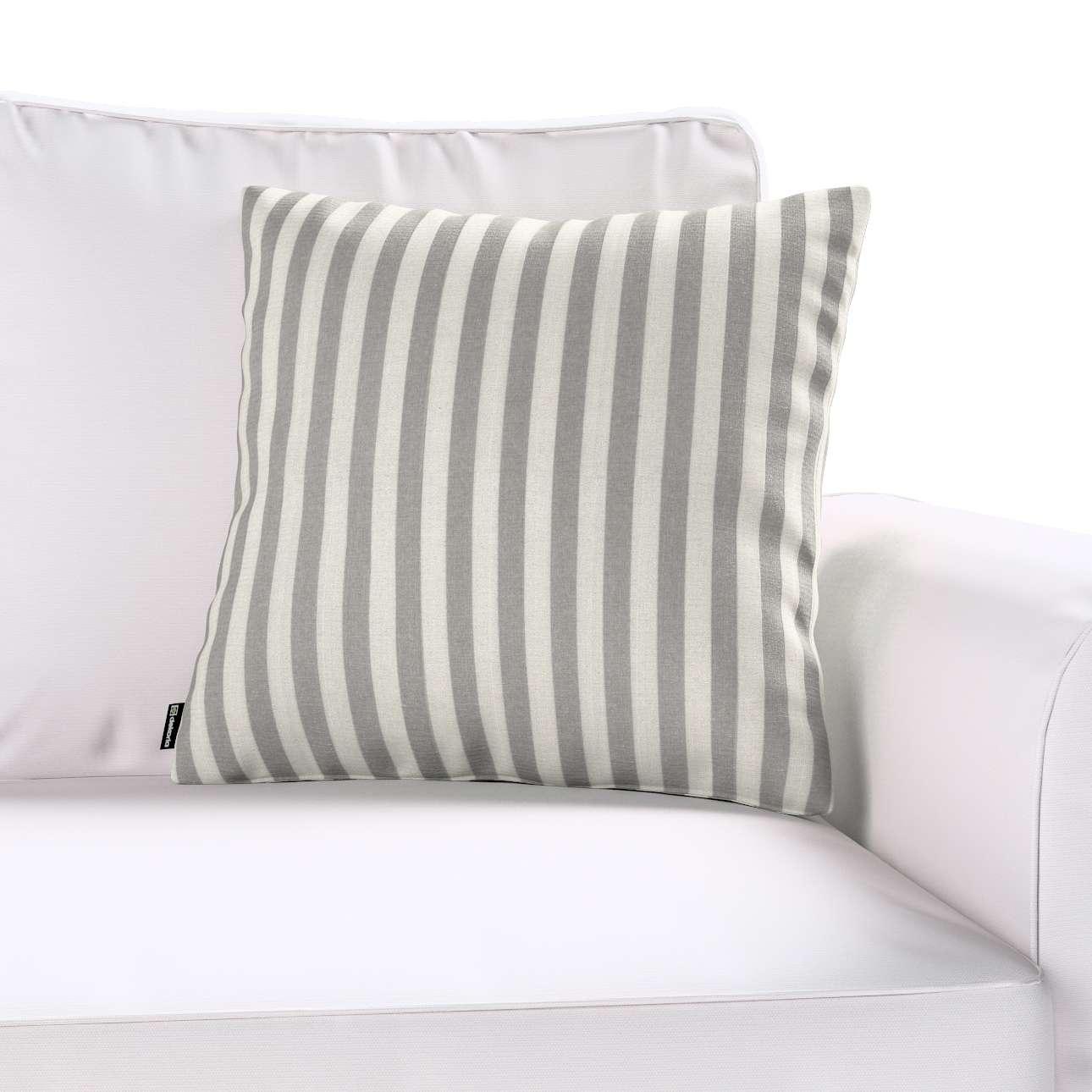 Poszewka Kinga na poduszkę 43 x 43 cm w kolekcji Quadro, tkanina: 136-12