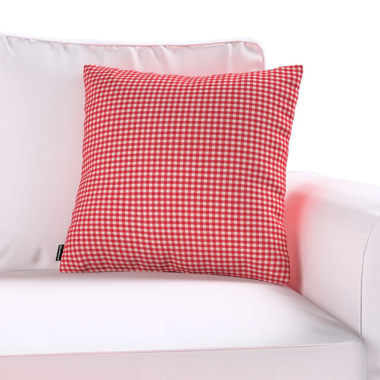 Kinga cushion cover in collection Quadro, fabric: 136-15