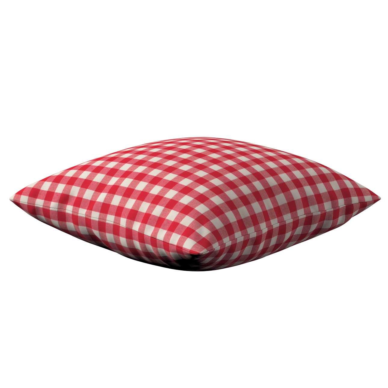 Kinga dekoratyvinės pagalvėlės užvalkalas 43 x 43 cm kolekcijoje Quadro, audinys: 136-16