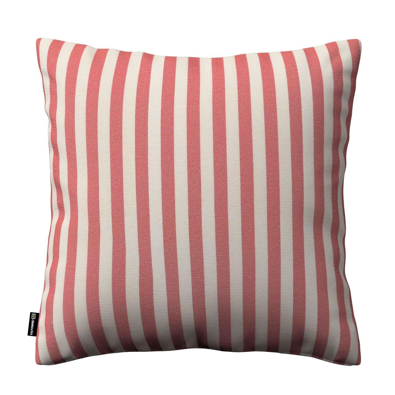 Poszewka Kinga na poduszkę w kolekcji Quadro, tkanina: 136-17