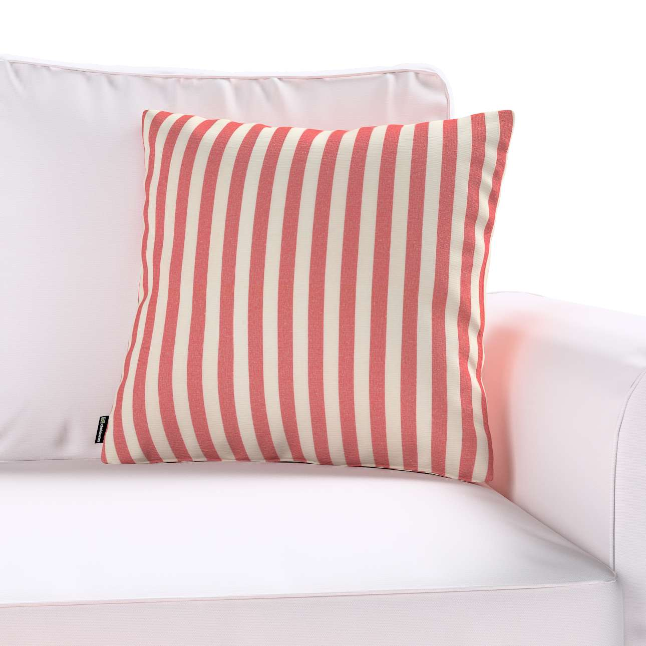 Kinga dekoratyvinės pagalvėlės užvalkalas 43 × 43 cm kolekcijoje Quadro, audinys: 136-17
