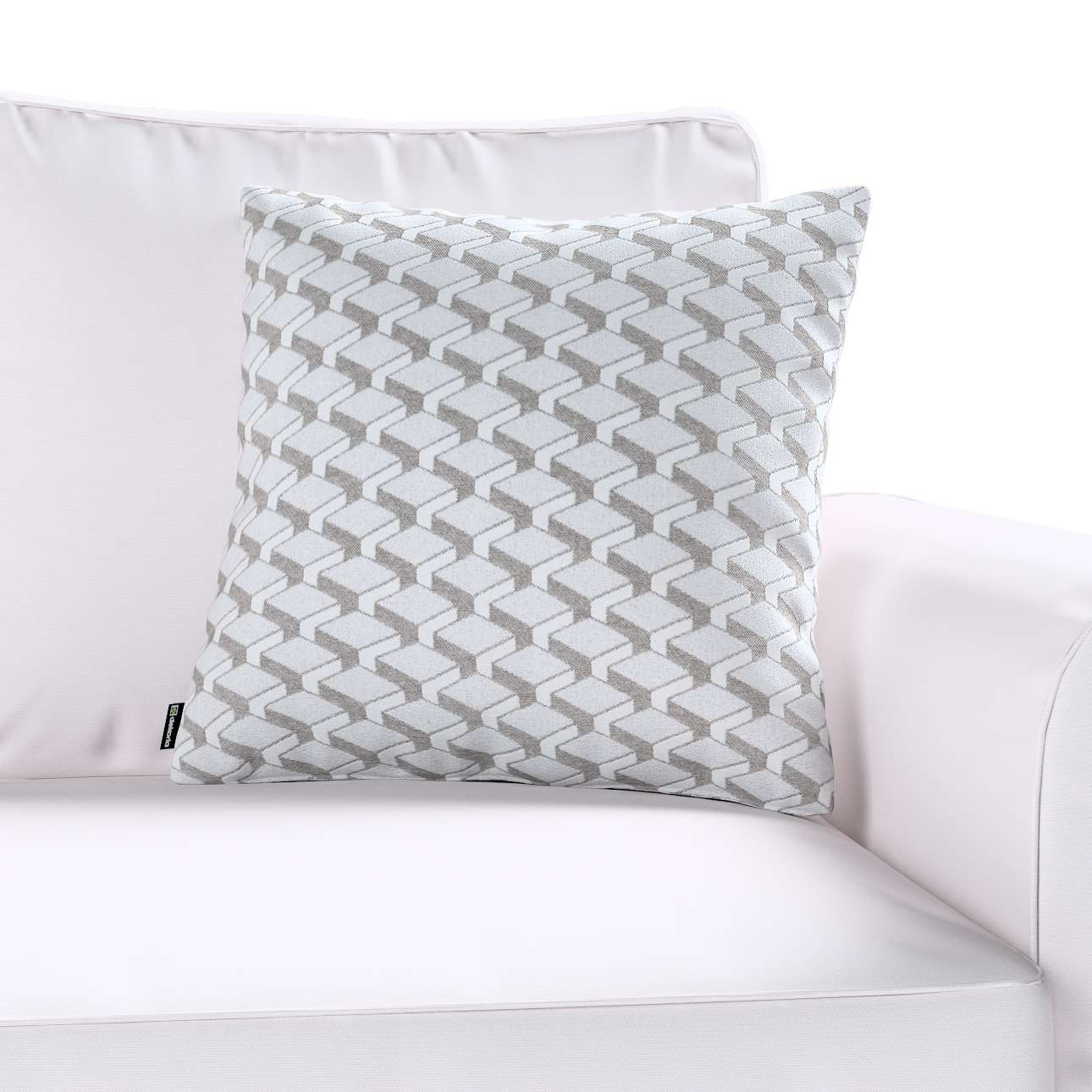 Kinga cushion cover 43 x 43 cm (17 x 17 inch) in collection Rustica, fabric: 138-18