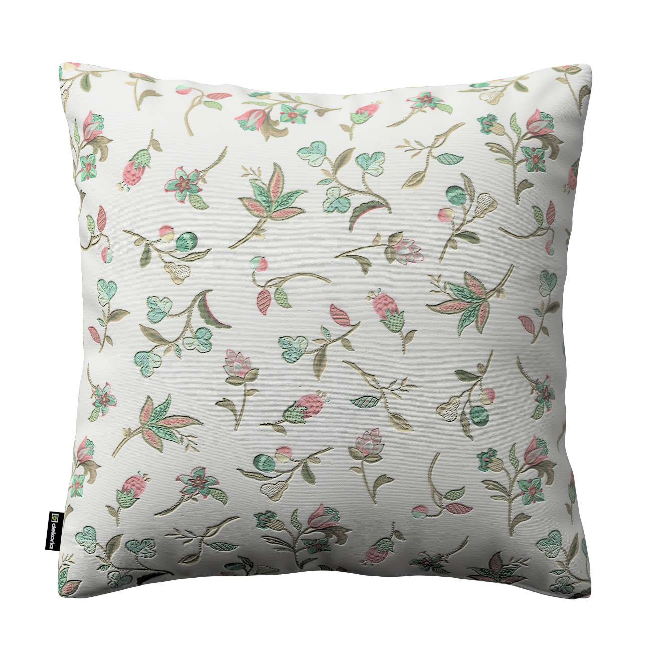 Kinga cushion cover 43 x 43 cm (17 x 17 inch) in collection Londres, fabric: 122-02