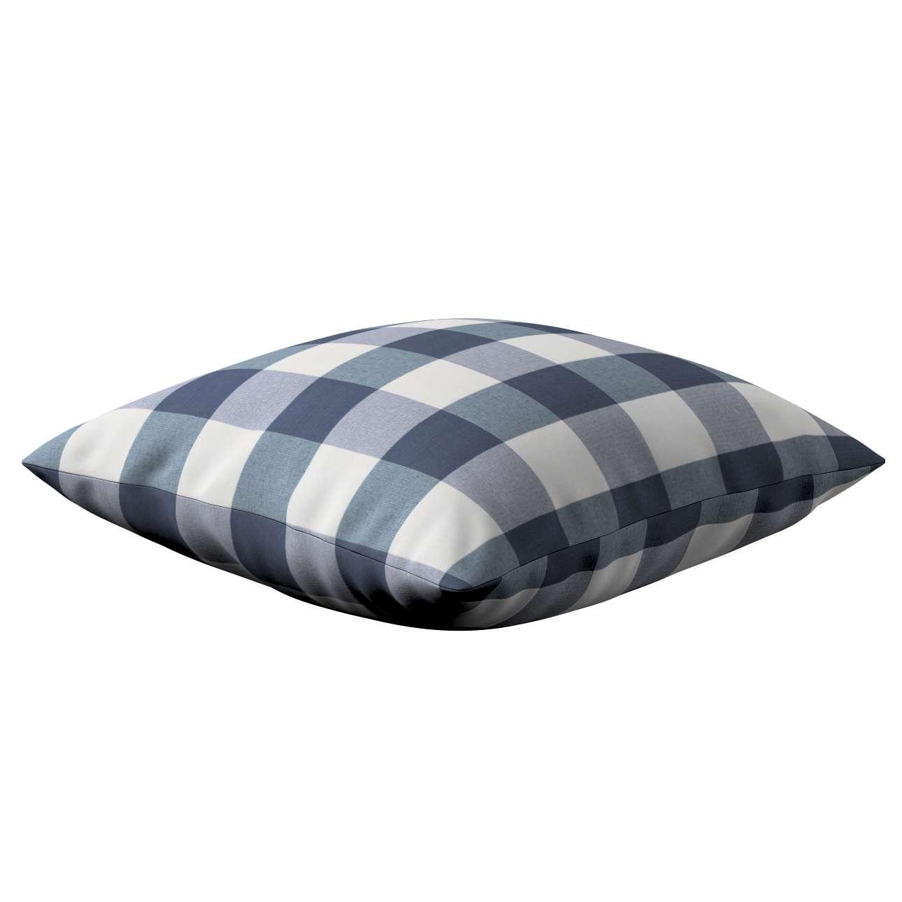 Poszewka Kinga na poduszkę w kolekcji Quadro, tkanina: 136-03