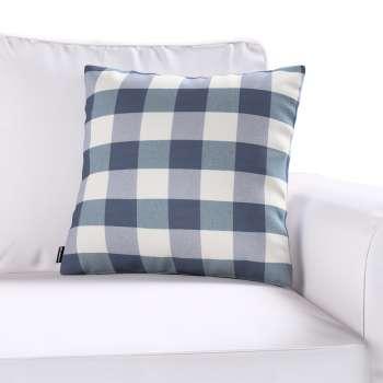 Kinga dekoratyvinės pagalvėlės užvalkalas 43 x 43 cm kolekcijoje Quadro, audinys: 136-03