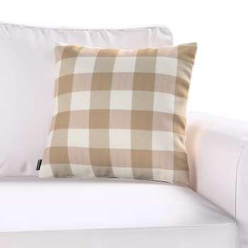 Kinga dekoratyvinės pagalvėlės užvalkalas 43 x 43 cm kolekcijoje Quadro, audinys: 136-08