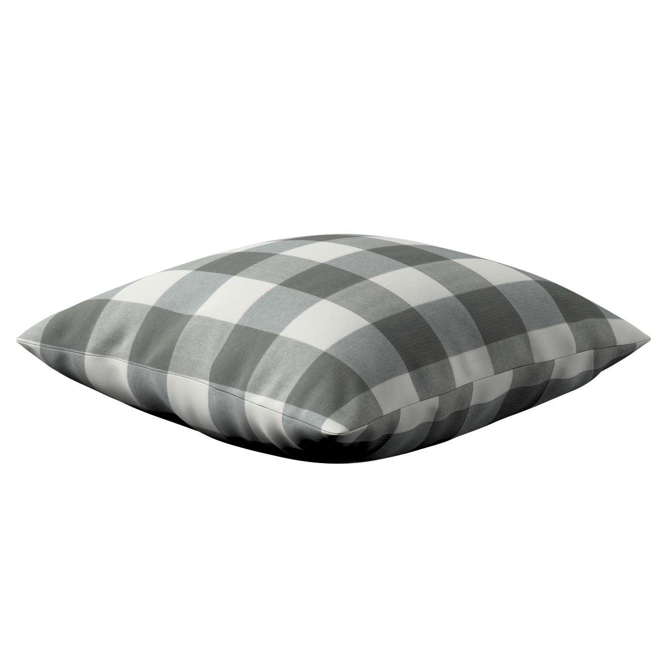 Kinga cushion cover in collection Quadro, fabric: 136-13