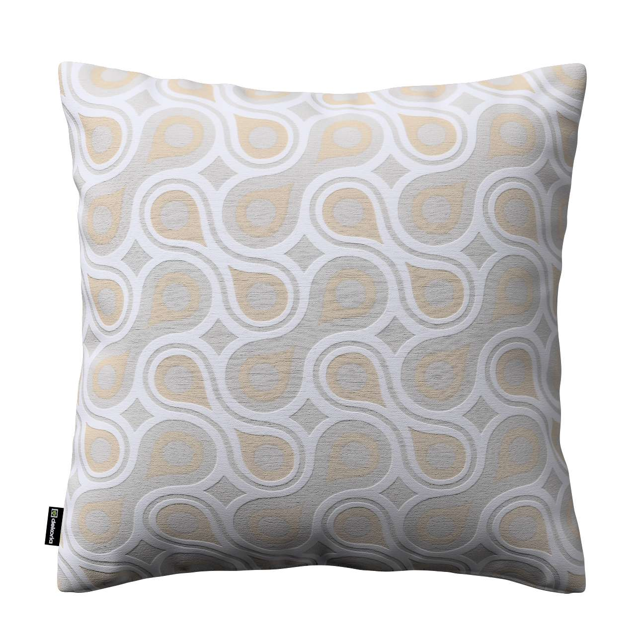 Kinga cushion cover 43 x 43 cm (17 x 17 inch) in collection Flowers, fabric: 311-11