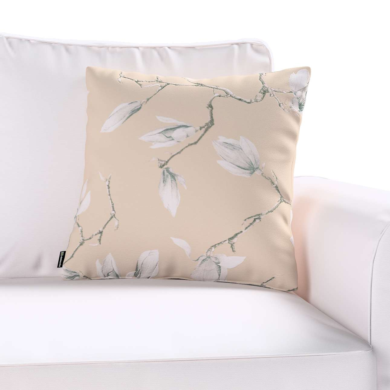 Poszewka Kinga na poduszkę w kolekcji Flowers, tkanina: 311-12
