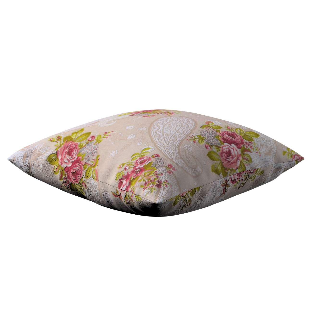 Kinga dekoratyvinės pagalvėlės užvalkalas 43 x 43 cm kolekcijoje Flowers, audinys: 311-15