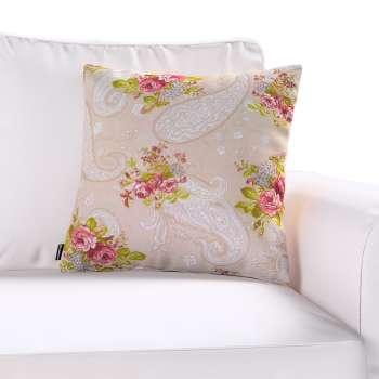 Poszewka Kinga na poduszkę w kolekcji Flowers, tkanina: 311-15