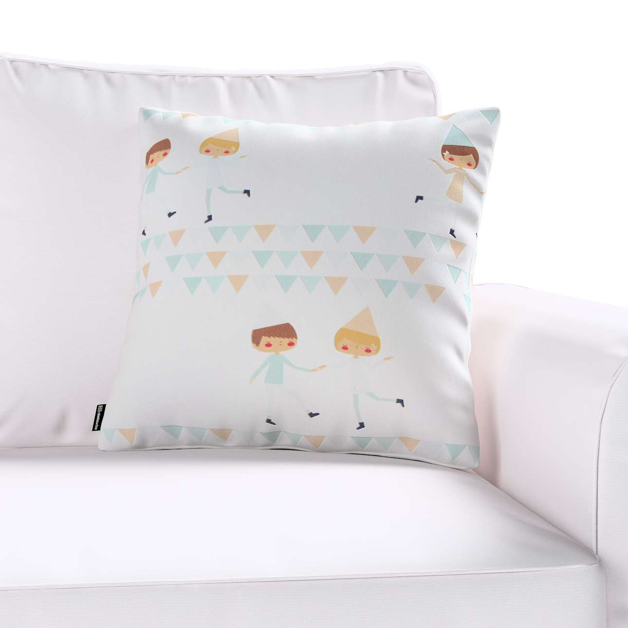 Kinga cushion cover 43 x 43 cm (17 x 17 inch) in collection Apanona, fabric: 151-01