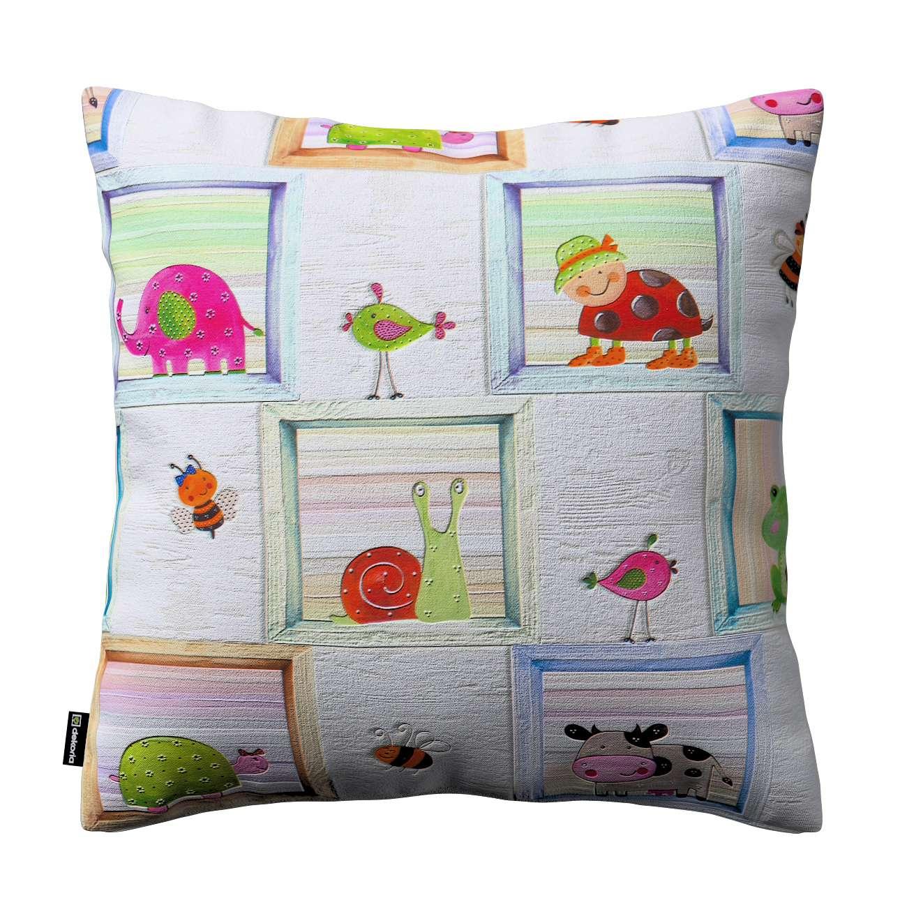 Kinga dekoratyvinės pagalvėlės užvalkalas kolekcijoje Apanona, audinys: 151-04