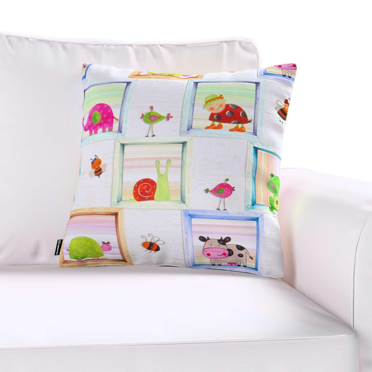 Poszewka Kinga na poduszkę w kolekcji Little World, tkanina: 151-04