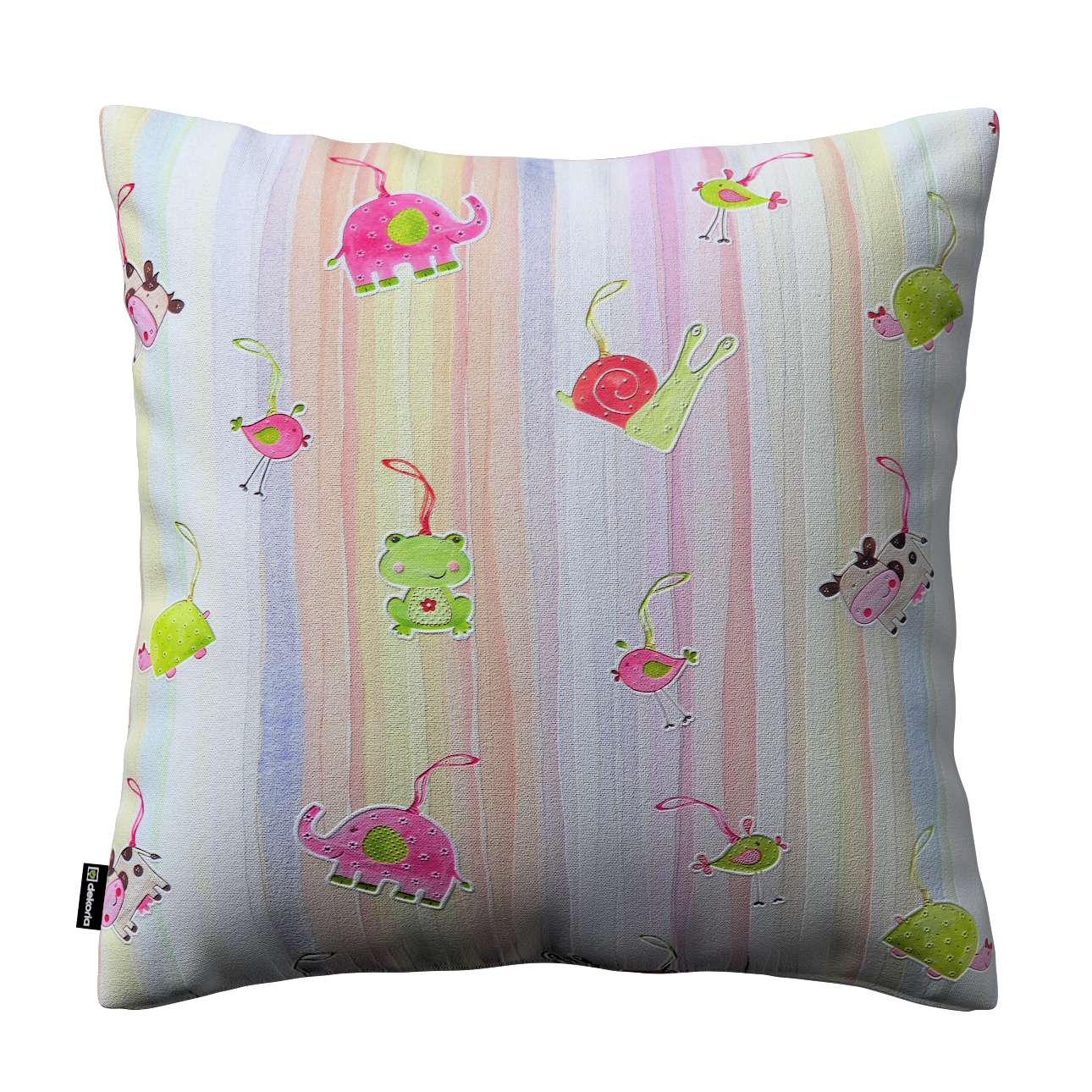 Poszewka Kinga na poduszkę w kolekcji Apanona do -50%, tkanina: 151-05