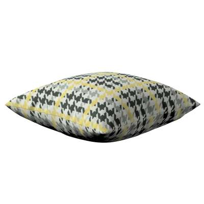 Poszewka Kinga na poduszkę 137-79 żółto-czarna pepitka Kolekcja do -50%
