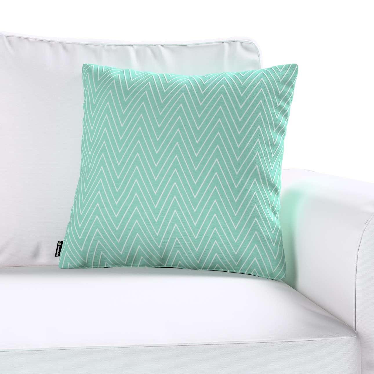 Kinga dekoratyvinės pagalvėlės užvalkalas 43 × 43 cm kolekcijoje Brooklyn, audinys: 137-90