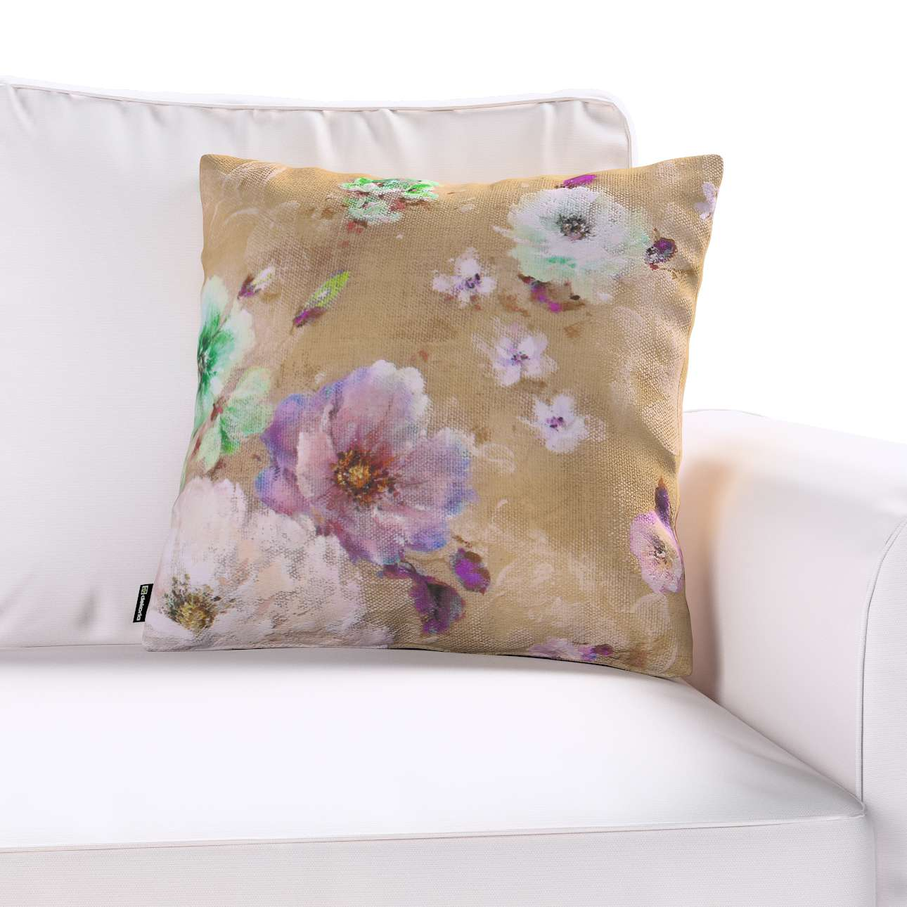 Kinga cushion cover in collection Monet, fabric: 137-82