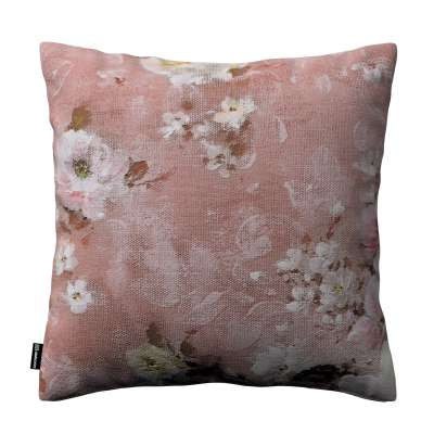 Karin - jednoduchá obliečka 137-83 krémove a ružové kvety na tmavo ružovom podklade Kolekcia Flowers