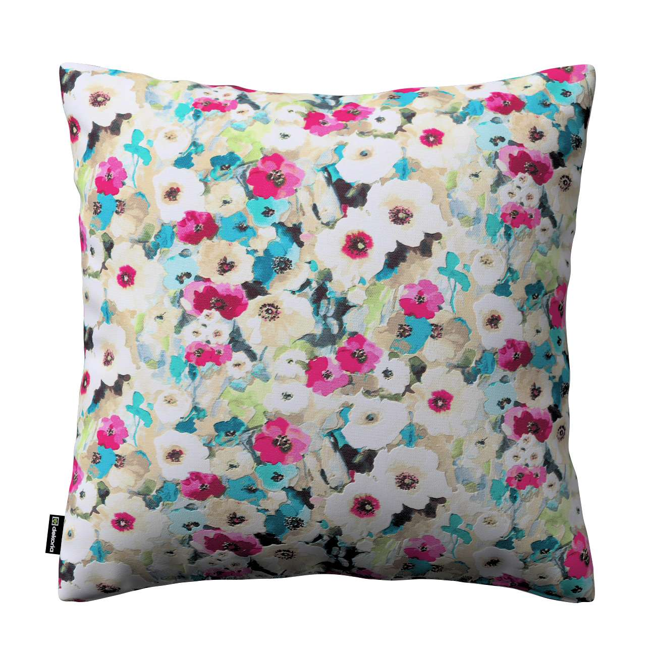 Kinga cushion cover 43 × 43 cm (17 × 17 inch) in collection Monet, fabric: 140-10