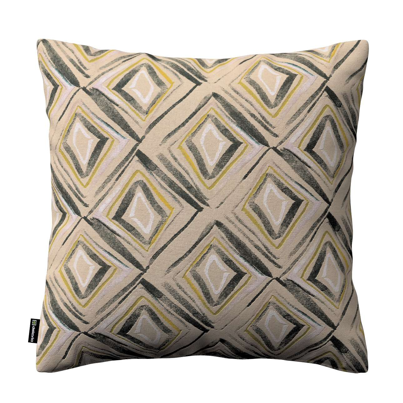 Kinga cushion cover 43 x 43 cm (17 x 17 inch) in collection Londres, fabric: 140-46