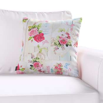 Kinga cushion cover 43 x 43 cm (17 x 17 inch) in collection Ashley, fabric: 140-19