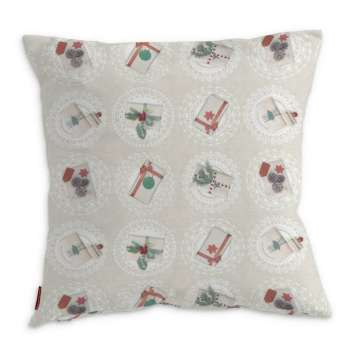 Kinga cushion cover 43 x 43 cm (17 x 17 inch) in collection Christmas, fabric: 629-30