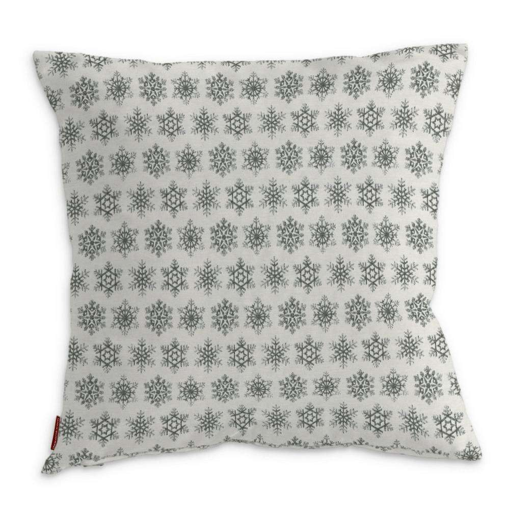 Kinga cushion cover 43 x 43 cm (17 x 17 inch) in collection Christmas, fabric: 630-28