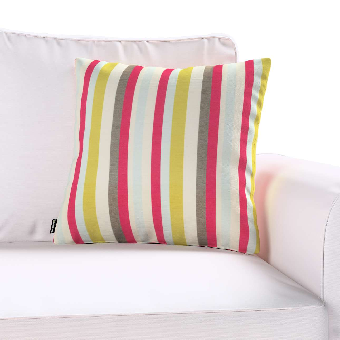 Kinga cushion cover 43 x 43 cm (17 x 17 inch) in collection Flowers, fabric: 140-81