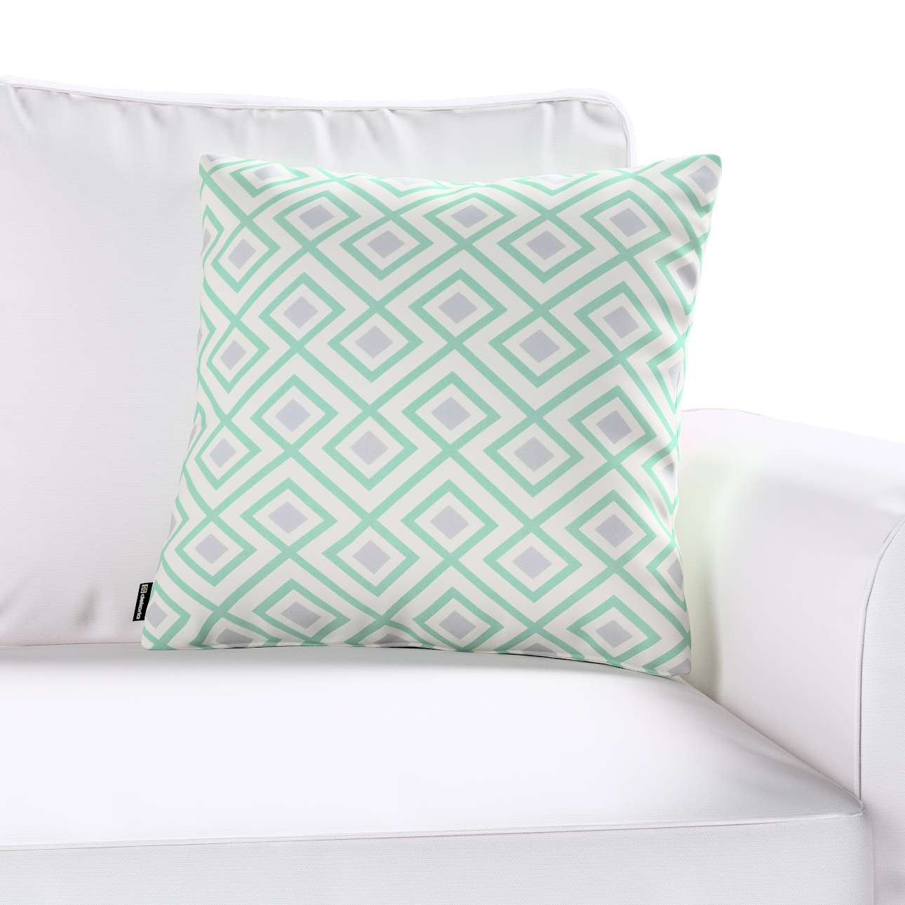 Kinga cushion cover in collection Geometric, fabric: 141-45