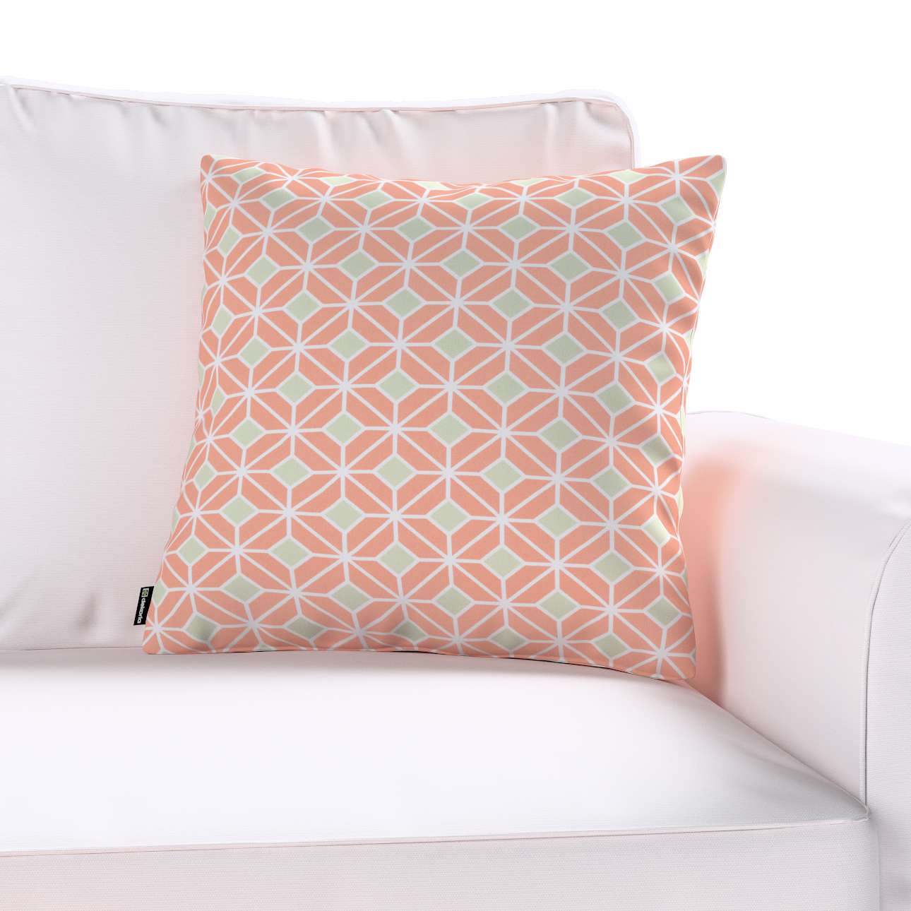 Kinga cushion cover 43 × 43 cm (17 × 17 inch) in collection Geometric, fabric: 141-48