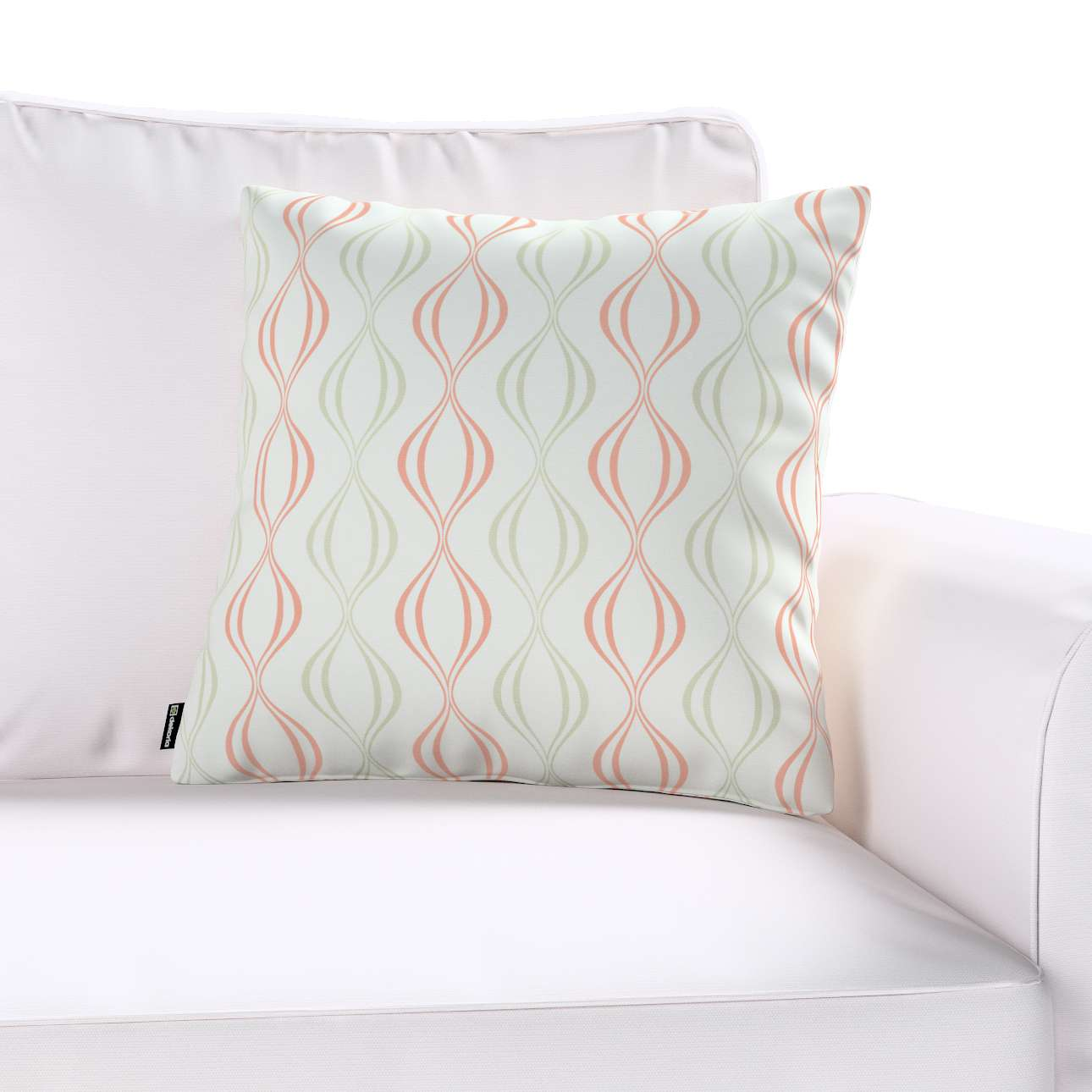 Kinga cushion cover 43 x 43 cm (17 x 17 inch) in collection Geometric, fabric: 141-49