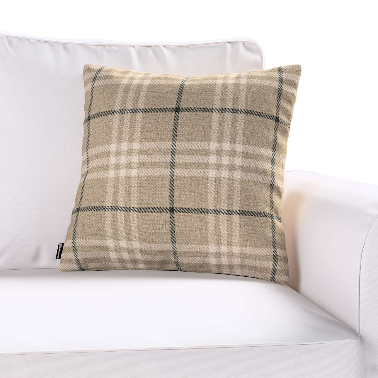 Kinga cushion cover 43 × 43 cm (17 × 17 inch) in collection Edinburgh, fabric: 703-11