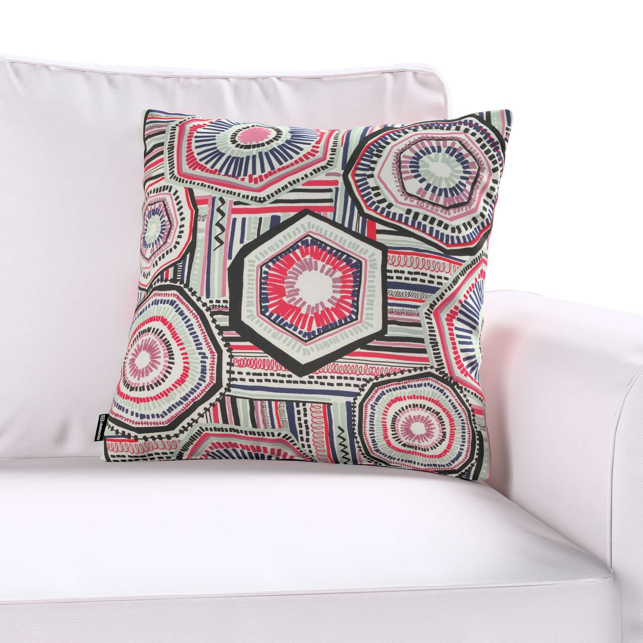 Kinga cushion cover in collection New Art, fabric: 141-54